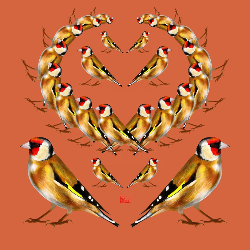 goldfinch garland2